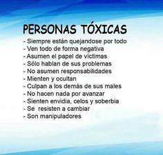 Personas toxicas
