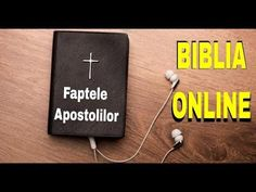 🎙🎚BIBLIA AUDIO DRAMATIZATA - Cartea Faptele Apostolilor- Sfanta Evanghelie - YouTube Audio, Letter Board, Lettering, Youtube, Blog, Bible, Blogging, Letters, Texting