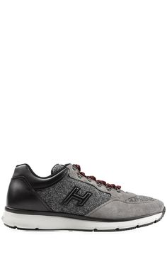 HOGAN Sneakers With Suede And Felt. #hogan #shoes #shoes