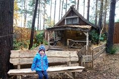 Read all about our experience of LaplandUK   This photograph was taken at the entrance to the Enchanted Forest