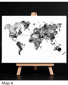 Design world map art print black and white drawing prints world black and white world map monochrome art world map art world map wall art black and white map poster black and white large world map gumiabroncs