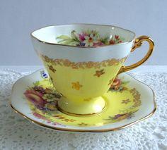 EB Foley China thee kopje en schotel theekopje Set