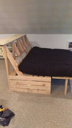 pallet futon and bar how to make a fold out sofa futon bed frame   futon bed frames      rh   pinterest