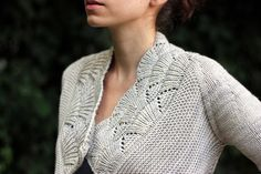 Nanook by Heidi Kirrmaier // The heavier fibre blend of Luxury Worsted makes this sweater feel like a hug, and provides a lovely drape.