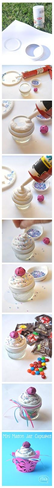 FET AMB UN SOMRIURE: Fem manualitats: Un cupcake de caramels