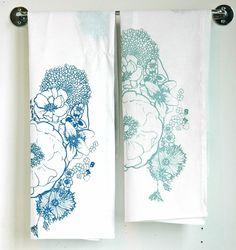 handprinted dishtowels by appetite