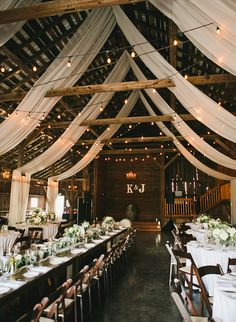 18 Country Barn Wedding Reception Ideas with White Draping country. 18 Country Barn Wedding Reception Ideas with White Draping country rustic barn wedding reception Always wa. Barn Wedding Decorations, Barn Wedding Venue, Wedding Themes, Wedding Ideas, Gown Wedding, Lace Wedding, Wedding Cakes, Wedding Rings, Wedding Dresses