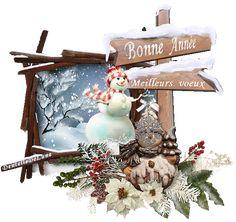 bonne-année-meilleurs-voeux-gif-animé-21 Gif Fete, Happy New Year Message, Vintage Images, Messages, Christmas Ornaments, Holiday Decor, Greeting Cards, Happy New Year Wishes, Vintage Pictures