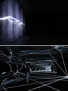 Exhibition design for LEXUS RX Museum, Crystal Falls.