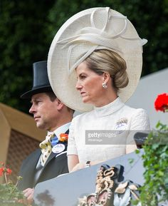 Prince Edward, Earl of Wessex and Sophie, Countess of Wessex attends day 1 of Royal Ascot at Ascot Racecourse on June 16, 2015 in Ascot, England.