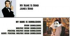 Harry Potter Vtipy - Bond - Wattpad