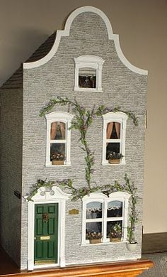 Dutch style dollhouse