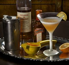The Gascon Sidecar (cocktails are food, right?)