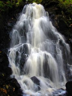 Waterfall near Stephenville, Newfoundland Newfoundland Canada, Newfoundland And Labrador, O Canada, Canada Travel, Atlantic Canada, Prince Edward Island, New Brunswick, Future Travel, Beautiful Islands