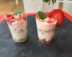 Triffle aux fraises recette allégée et gourmande