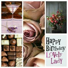 Sweet, sweet way to make some lady happy on her birthday. Birthday Wishes For Women, Birthday Wishes Greetings, Happy Birthday Wishes Images, Birthday Cheers, Happy Birthday Quotes, Happy Birthday Lovely Lady, Happy 2nd Birthday, Happy Birthday Cards, Birthday Collage