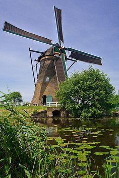 Windmills of Kinderdijk, via Flickr.