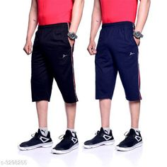 Three Fourths PC Cotton Men's Three Fourths Fabric: PC Cotton Waist Size: L - 32 in, XL - 34 in, XXL -  36 in Length: 18 in Type: Stitched Description: It Has 2 Piece Of Men's Three Fourths Pattern: Striped Sizes Available: M, L, XL, XXL *Proof of Safe Delivery! Click to know on Safety Standards of Delivery Partners- https://ltl.sh/y_nZrAV3  Catalog Rating: ★4.1 (6362)  Catalog Name: free gift Stylish PC Cotton Men's Three Fourths Vol 2 CatalogID_456076 C69-SC1934 Code: 405-3298255-