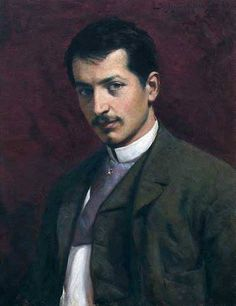 Paja Jovanovic (Serbian painter, 1859-1957) – self-portrait. – Paja Jovanovic is one of the greatest Serbian painters. Uros Predic, another great painter, is perhaps the only artist from the Serbian art Pantheon, who can match, to a certain degree, Paja Jovanovic in terms of the technical excellence and the impact of his paintings on the Serbian people and their culture.