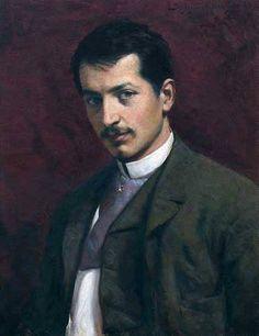 A famous Serbian painter, Paja Jovanović (self-portrait) - Serbia