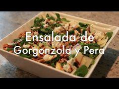 Ensalada de Gorgonzola y Pera - Recetas de Ensaladas - YouTube