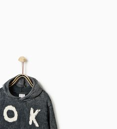 Sudadera Zara niños Talla 2 - 3 años Precio 10,95 (o similares) Hoods, Baby Boy, Plush, Personalized Items, Sweatshirts, Sweaters, Ideas, Zara Home Kids, Cowls