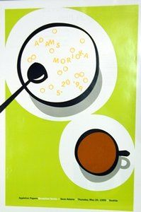 "AdamsMorioka, ""Seattle Breakfast Poster"" (1999) 