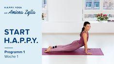H.A.P.P.Y. Yoga mit Amiena Zylla - Programm 1, Woche 1 - Faszien Morgengruß