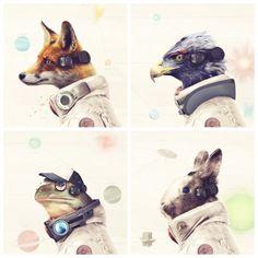 Realistic #Starfox Cast by Gallery94