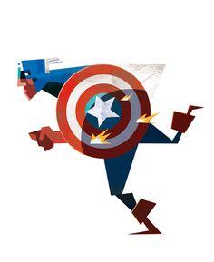 Captain America. #robertmball