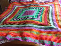 Gotta find a cool and funky name!: Crochet bedspread!