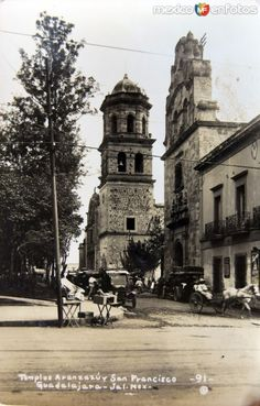 TEMPLO DE ARANZAZU Y SAN FRANCISCO Hacia 1930