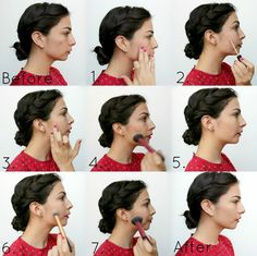 How to Cover Acne with Makeup www.ultimakeover.com