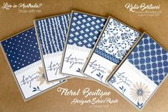Stampin' Up! Australia: Kylie Bertucci Independent Demonstrator: Crazy Crafters Blog Hop with special Guest - Julie Davison