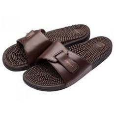 b1747037c Fukkatsu Reflexology Japanese Health Flip Flops for Men - Comfort and  Massage