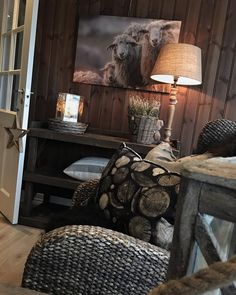 Rustic Cottage, Rustic Farmhouse, Cottage Style, Cabin Homes, Cottage Homes, Chalet Interior, Interior Design, Tiny Cabin Plans, Country Bedroom Design