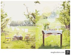 vintage outdoor birthday party