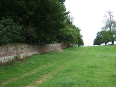 The garden wall of Hougoumont. This area saw some of the fiercest fighting.
