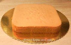 Fotorecept: Tortový korpus zo 6 vajec