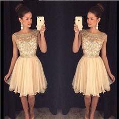 Abendkleider 2016 robe de soirée vestido de festa longo Cristales Pesados Con Cuentas a Mano Champagne largos vestidos de noche para las mujeres