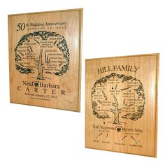 Give mom the gift of family with these beautiful ancestry plaques!
