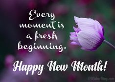 New Month Wishes, Messages and Quotes Happy New Month Images, Happy New Month Prayers, Happy New Month Messages, Happy New Month Quotes, New Month Wishes, August Quotes, Happy Morning Quotes, New Quotes, Happy Quotes