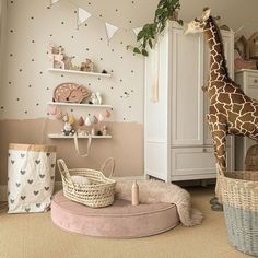 Ideas to decorate your baby& room with our puff. With warm and soft colors to give your baby that rest. Get inspired and steal some ideas de habitacion de bebe Baby Bedroom, Baby Room Decor, Girls Bedroom, Bedroom Decor, Kids Room Design, Little Girl Rooms, Nursery Inspiration, Room Interior, Home Decor