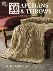 Knit in 10 Hours Afghans & Throws - #ASK0049