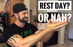 Rest Day? Or Nah?  Some people love 'em some people hate 'em. We're talking about rest days. Do you need them? Or are they just a global conspiracy to keep you weak?  With summer just around the corner we have a ton of people starting training and nutrition programs (If you need help with yours shoot me an email...I know a guy) and motivation is at an all time high. In fact motivation may be as high as it ever will be.  When motivation is running that hot the thought of a rest day makes you…