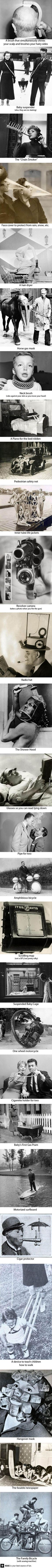 27 insane inventions from the past