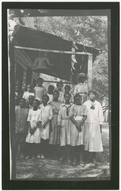 1923 Spring Island, SC | The island had a school (Spring Island School) for African-American children under teacher Olivia Joiner. Today, archaeologists are seeking information about the African-Americans who lived on Spring Island before and after the Civil War. Spring Island was home to more than 200 slaves, many former slaves and their descendants stayed on the land living in the old slave quarters until they were torn down and pushed into the marsh, late 1930s. Penn Center archives