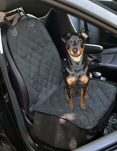 ANJUREN Dog Car Seat Cover Car Seat Covers for Pets Front Seat Protector Waterproof Convertible Nonslip Quilted Adjustable fit More Cars Suvs Trucks (Black) - http://www.caraccessoriesonlinemarket.com/anjuren-dog-car-seat-cover-car-seat-covers-for-pets-front-seat-protector-waterproof-convertible-nonslip-quilted-adjustable-fit-more-cars-suvs-trucks-black/  #More, #Adjustable, #ANJUREN, #Black, #Cars, #Convertible, #Cover, #Covers, #Front, #Nonslip, #Pets, #Protector, #Quilte