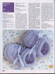 Baby Hat Knitting Patterns Free, Baby Booties Free Pattern, Baby Cardigan Knitting Pattern, Crochet Flower Patterns, Knitting For Kids, Baby Knitting Patterns, Crochet Baby Boots, Knit Baby Booties, Knitted Baby Clothes