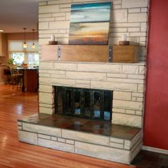 Belham Living Rustic Timber Beam Fireplace Mantel - Fireplace Mantels & Surrounds at Hayneedle